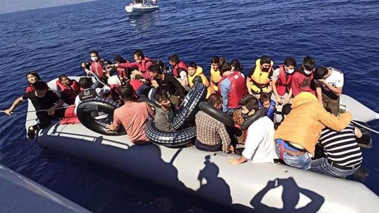 Turchia: Guardia Costiera recupera 44 migranti nel Mar Egeo