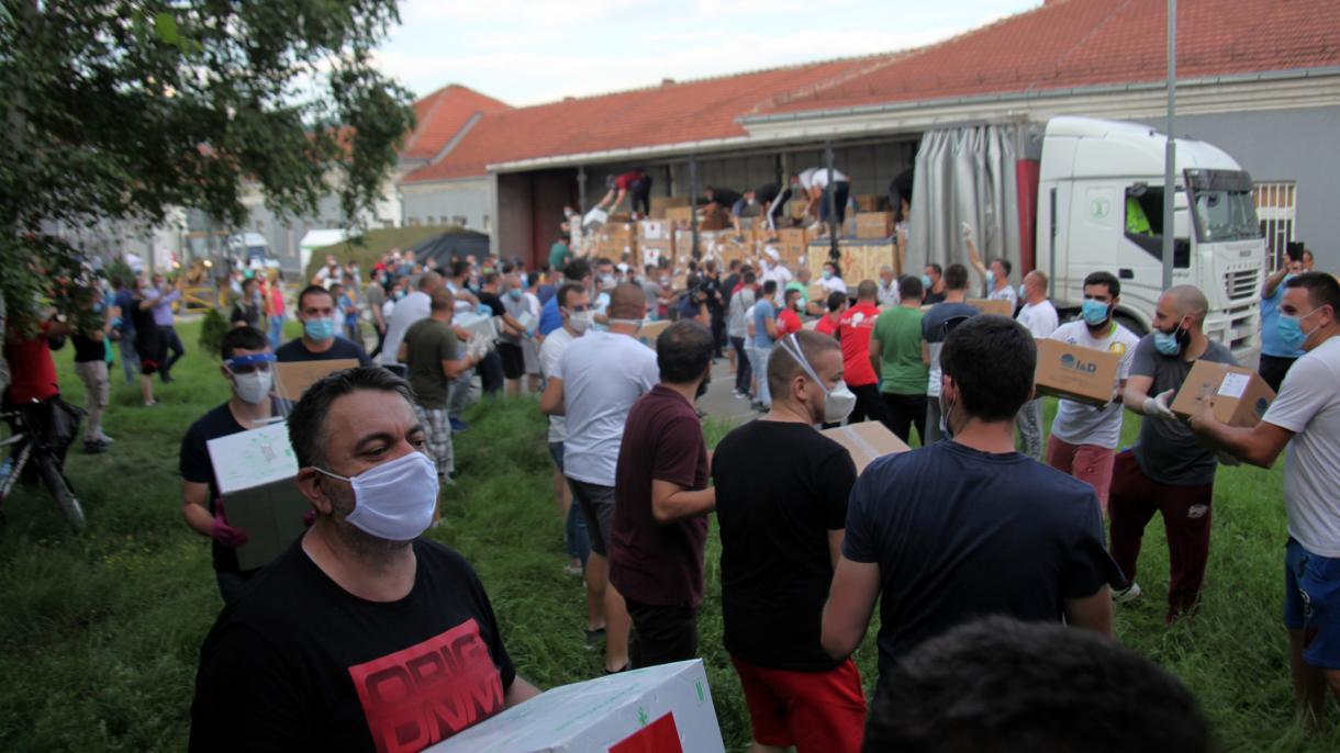 Pomoć iz Turske stigla u Novi Pazar (VIDEO)