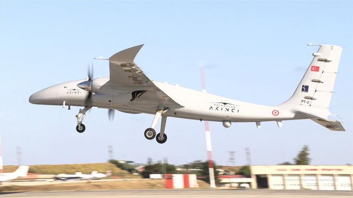 """Uspješno okončan test bespilotne letjelice """"AKINCI TİHA"""" na 20 hiljada fita"""