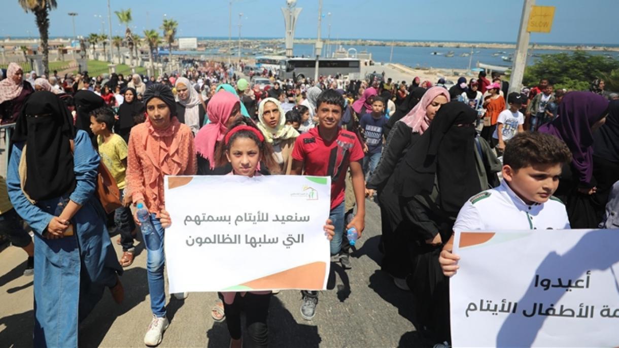 U Gazi više od 20.000 djece bez jednog ili oba roditelja