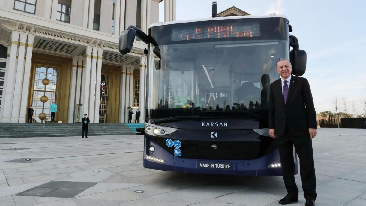 Erdogan predstavio prvi autonomni autobus 4. klase serijske proizvodnje u svijetu