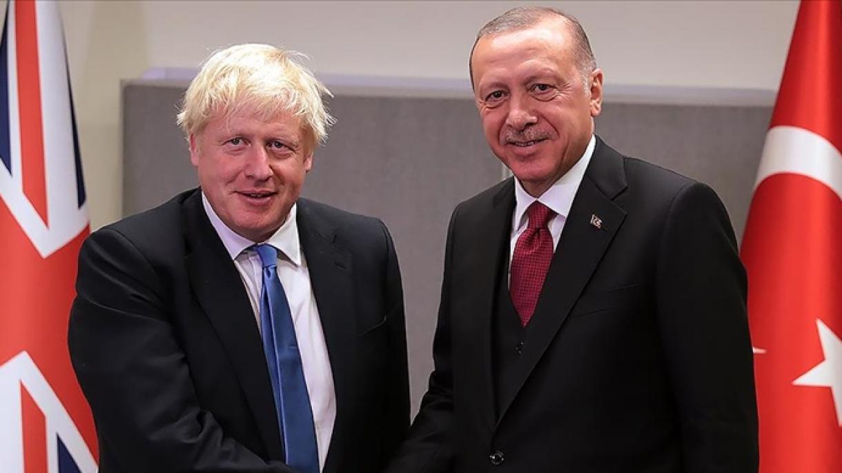Erdogan razgovarao sa britanskim premijerom Borisom Johnsonom
