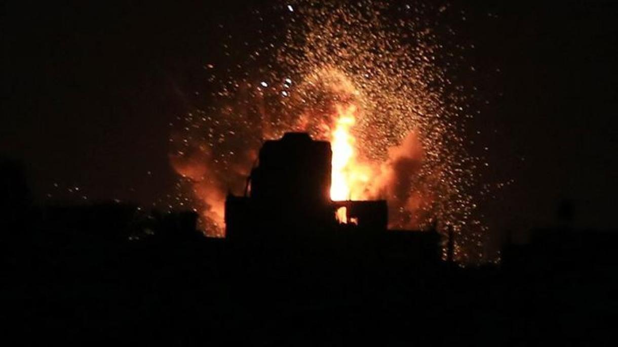Izraelska vojska bombardovala položaje Hamasa u Pojasu Gaze