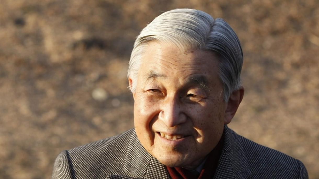 日本の今上天皇が皇位を離れることに