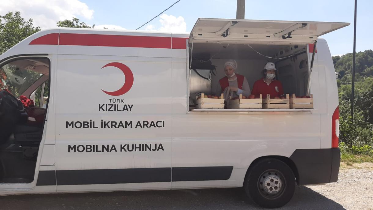 """Turski crveni polumjesec i ove godine na """"Maršu mira"""""""