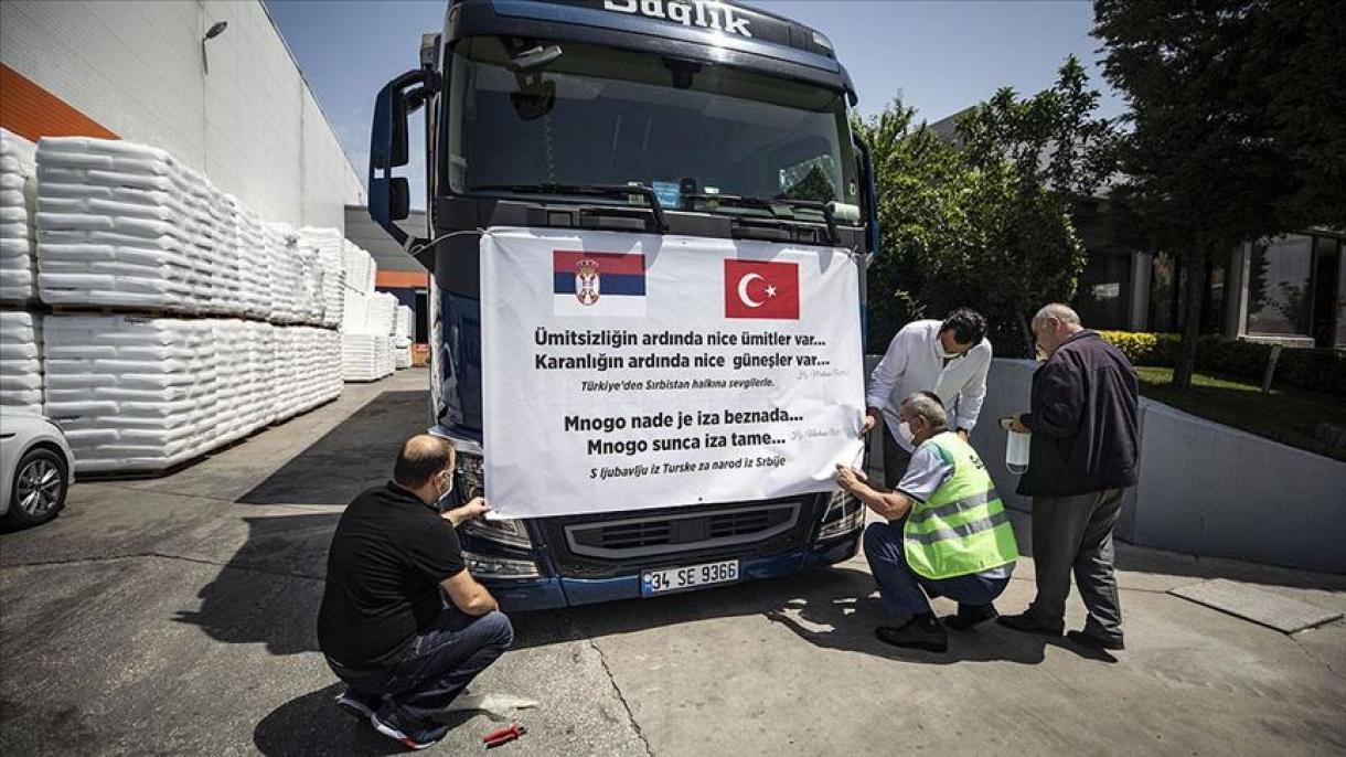 Iz Istanbula u Sandžak krenuo šleper sa kontingentom pomoći u medicinskoj opremi