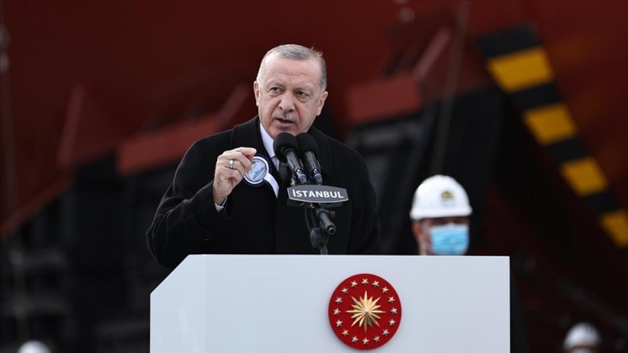 Erdogan poručio da je Turska među 10 zemalja svijeta koje dizajniraju i grade vlastiteratne brodove
