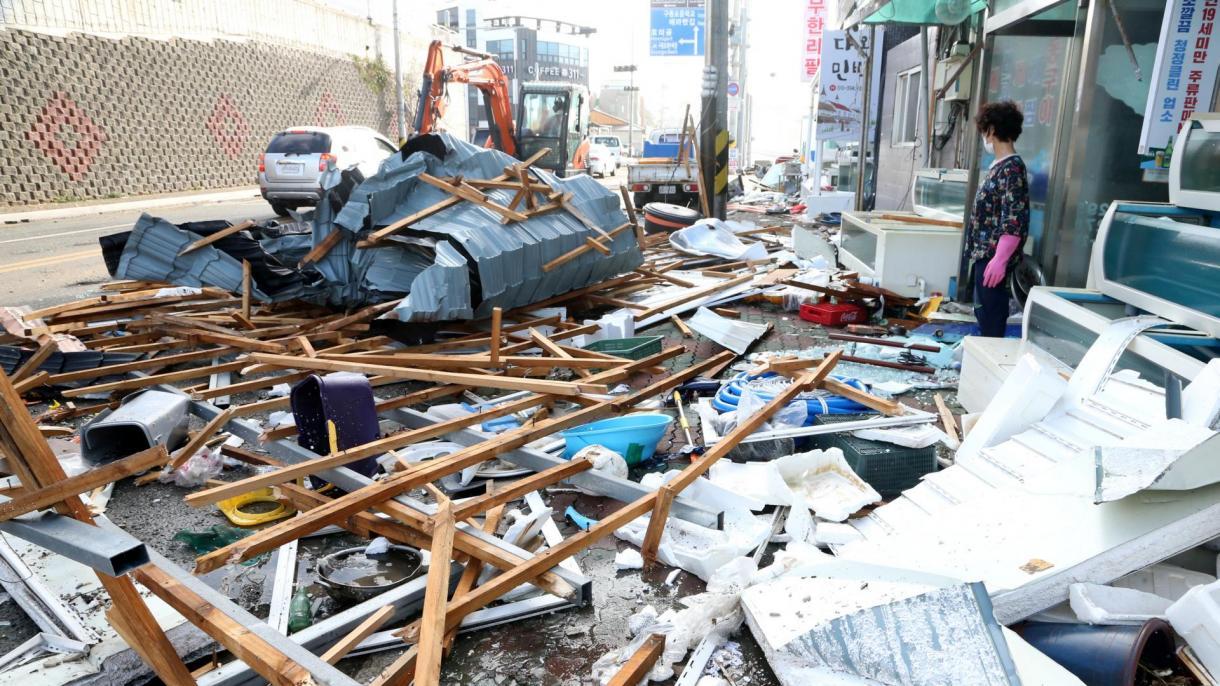Penggera Taufan di Jepun, 8 Juta Orang Dipindahkan