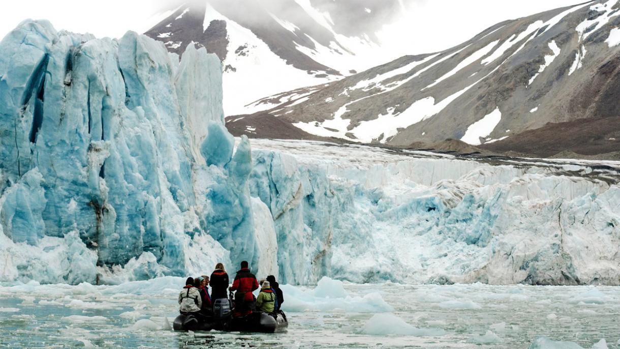 Simal Buzlu Okeanda Temperatur Normadan 20 Dərəcə Coxdur