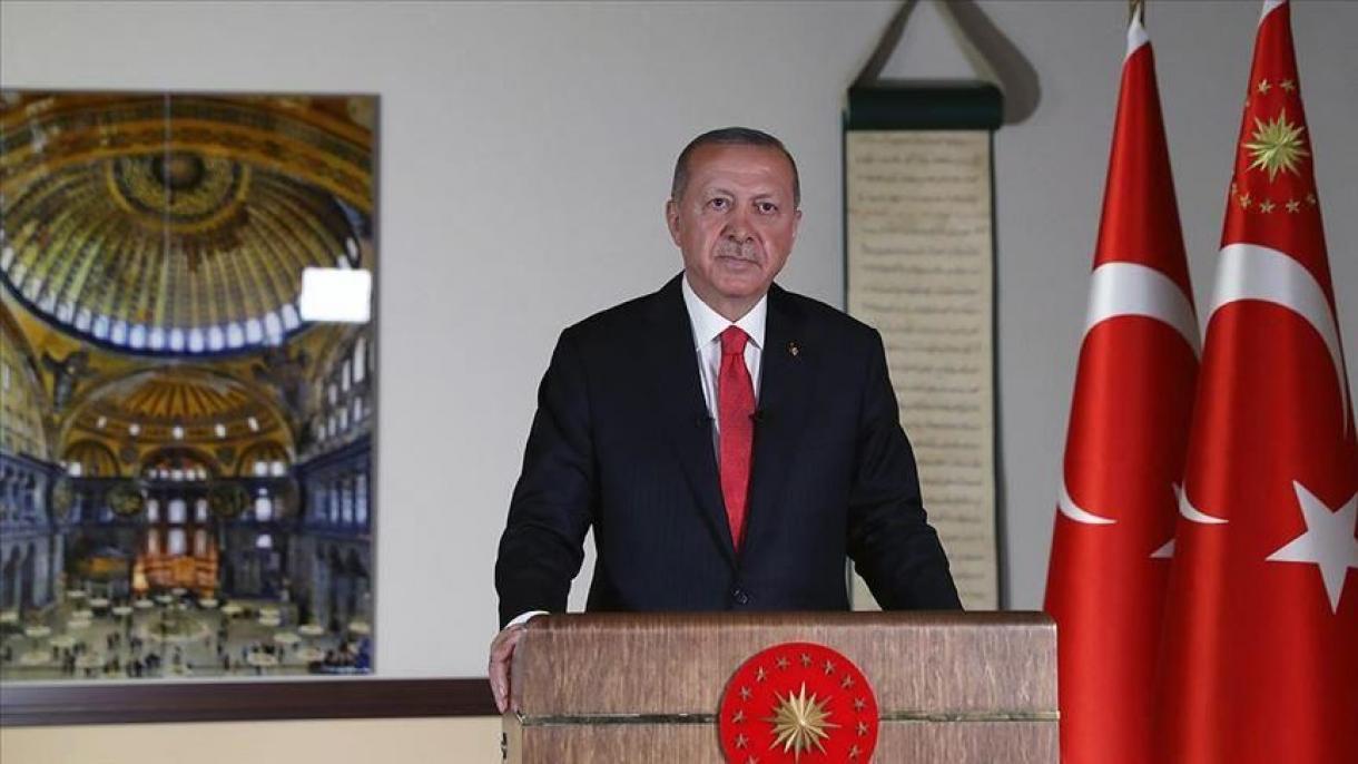 Erdogan: Klanjanjem džuma-namaza 24. jula Aja Sofiju zvanično otvorimo za molitvu