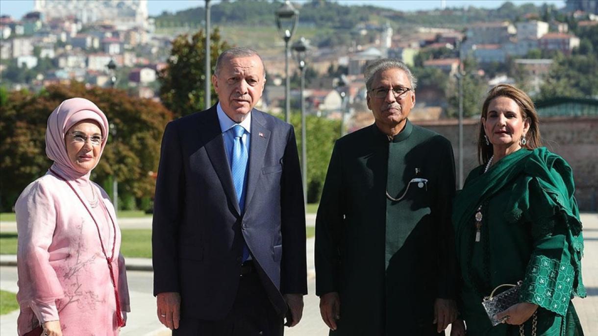 Predsjednik Erdogan se sastao sa predsjednikom Pakistana Arifom Alvijem