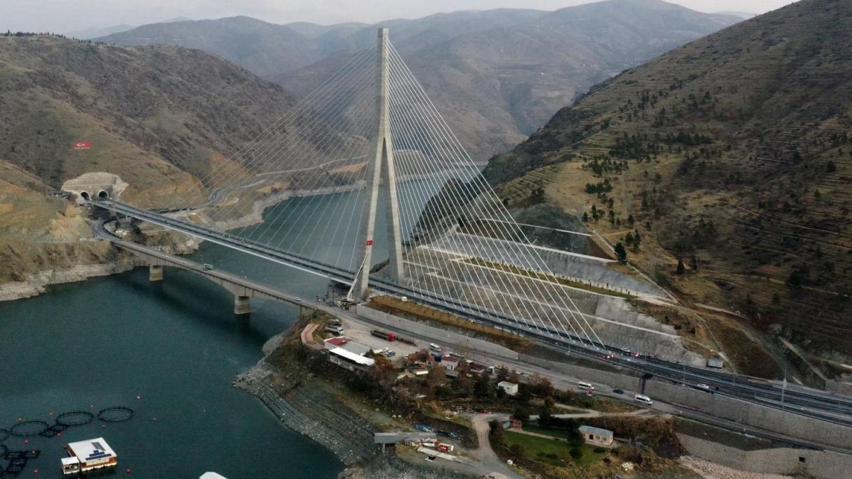 """U Turskoj otvoren most """"Komurhan"""", četvrti najveći mostove vrste u svijetu"""