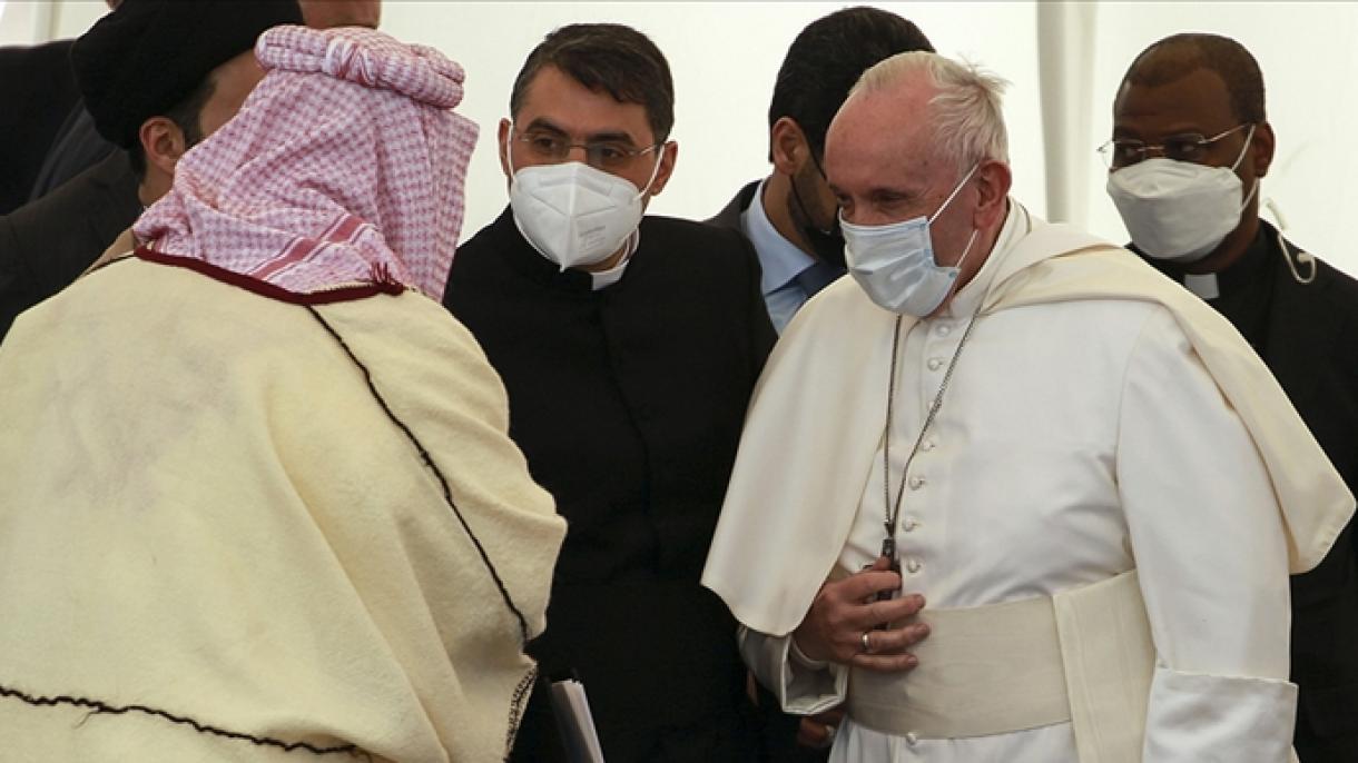 Papa en Irak