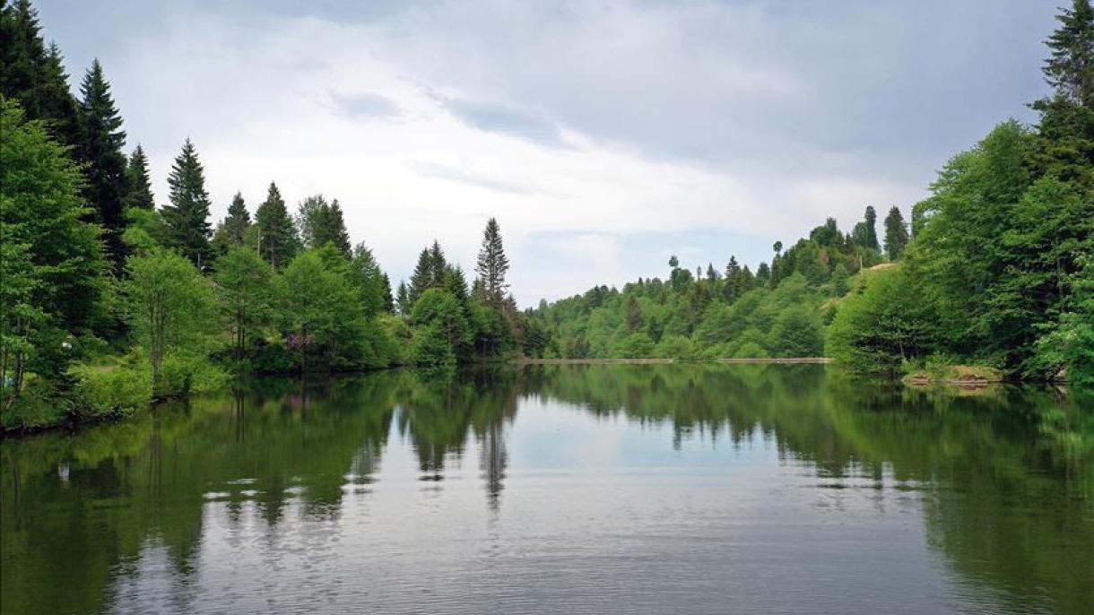 دریاچه بالیکلیگول ترکیه آماده میزبانی از گردشگران است