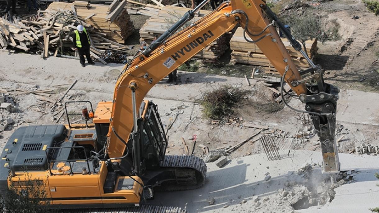 Izraelske snage srušile džamiju u izgradnji