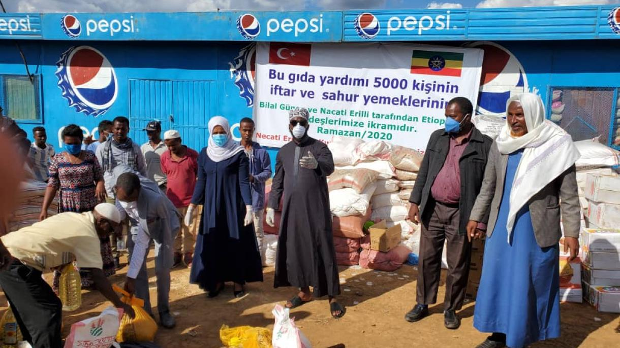 Dobri ljudi iz Kanade muslimanima u Etiopiji poslali 50 tona hrane za ramazan