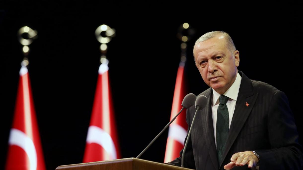 """Erdoğan:""""Dalam Wabak, Kita Tidak Membiarkan Sistem Kesihatan Kita Runtuh atau Ekonomi Kita Berhenti"""""""