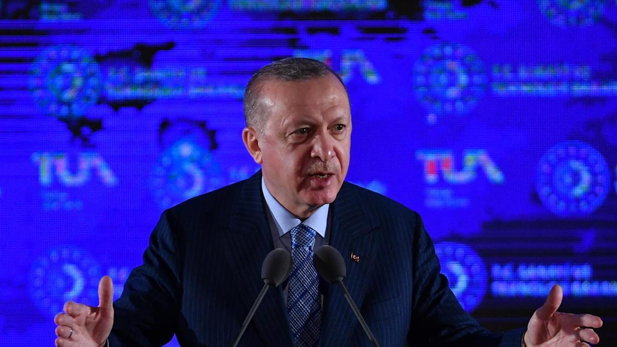 """Predsjednik Erdogan predstavio """"Nacionalni svemirski program"""""""