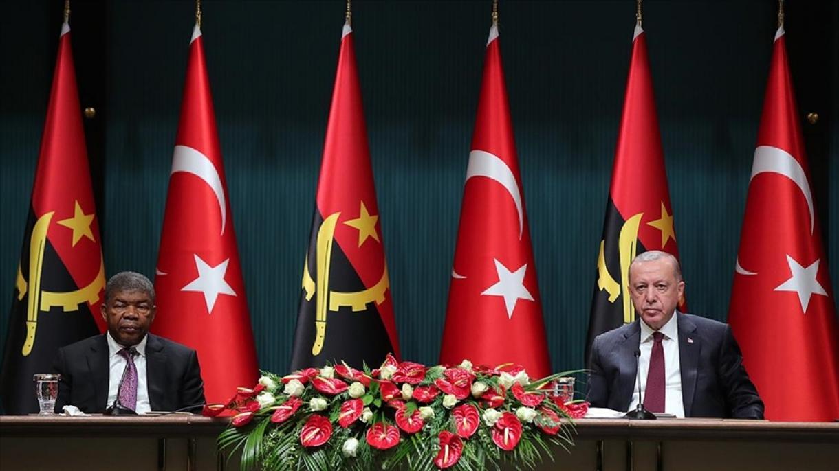 Erdogan: Kao zemlja koja se dokazala u borbi protiv terorizma, Turska će stajati i uz Angolu