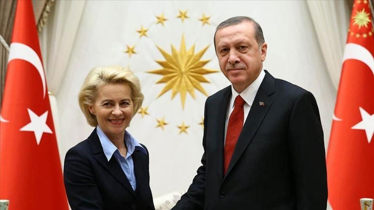 Erdogan ha parlato con Charles Michel e Ursula von der Leyen