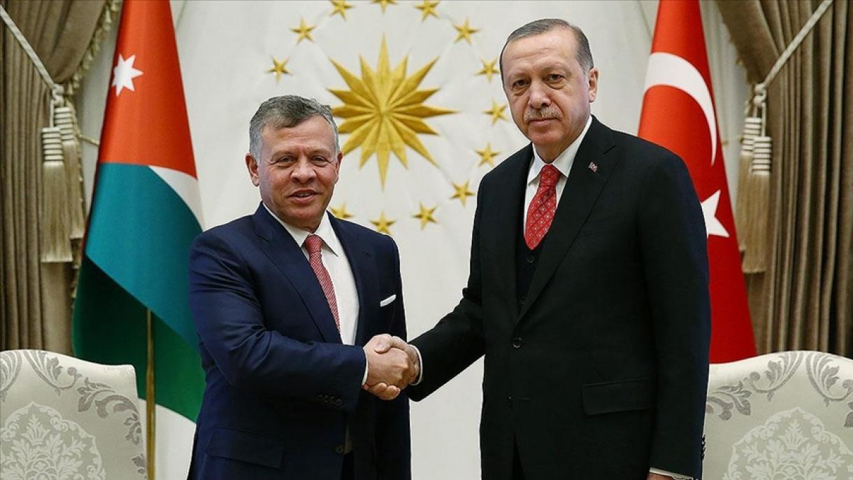Erdogan razgovarao sa jordanskim kraljem Abdullahom II