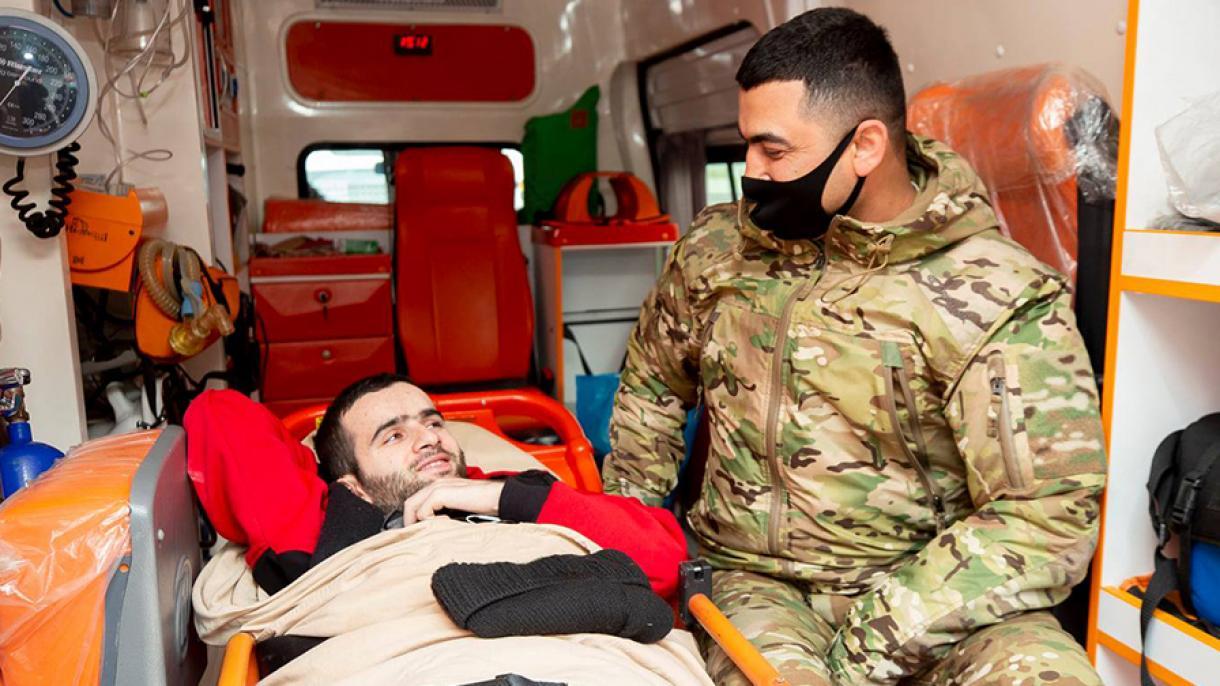 Heroji rata na Karabahu stižu u Tursku na liječenje