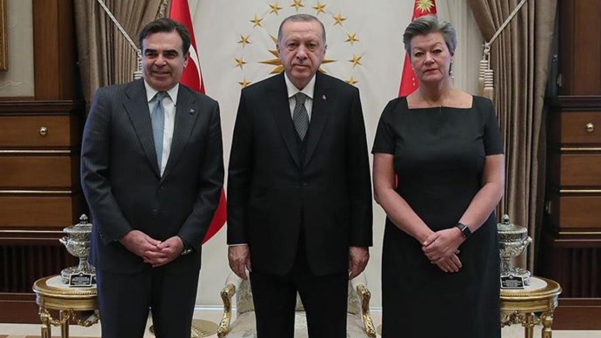 新欧州委員会からトルコ訪問