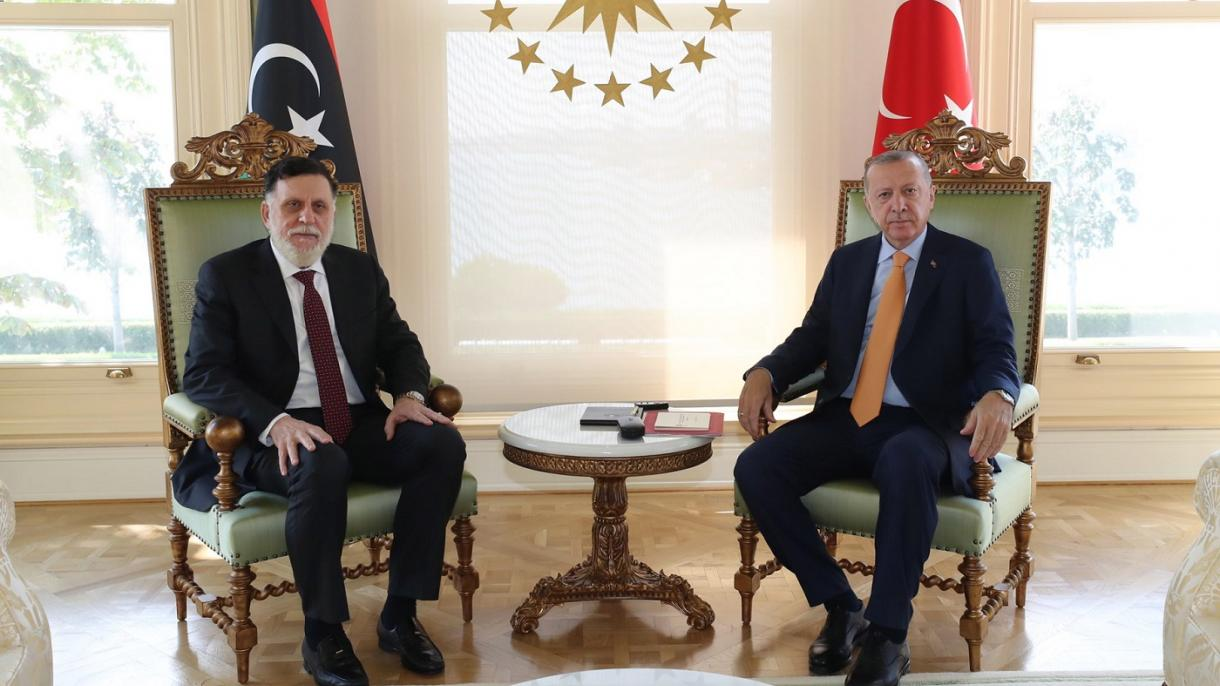 Erdoğan-PM Libya Bincangkan Langkah yang akan Melindungi Hak Turki dan Libya di Mediterranean Timur