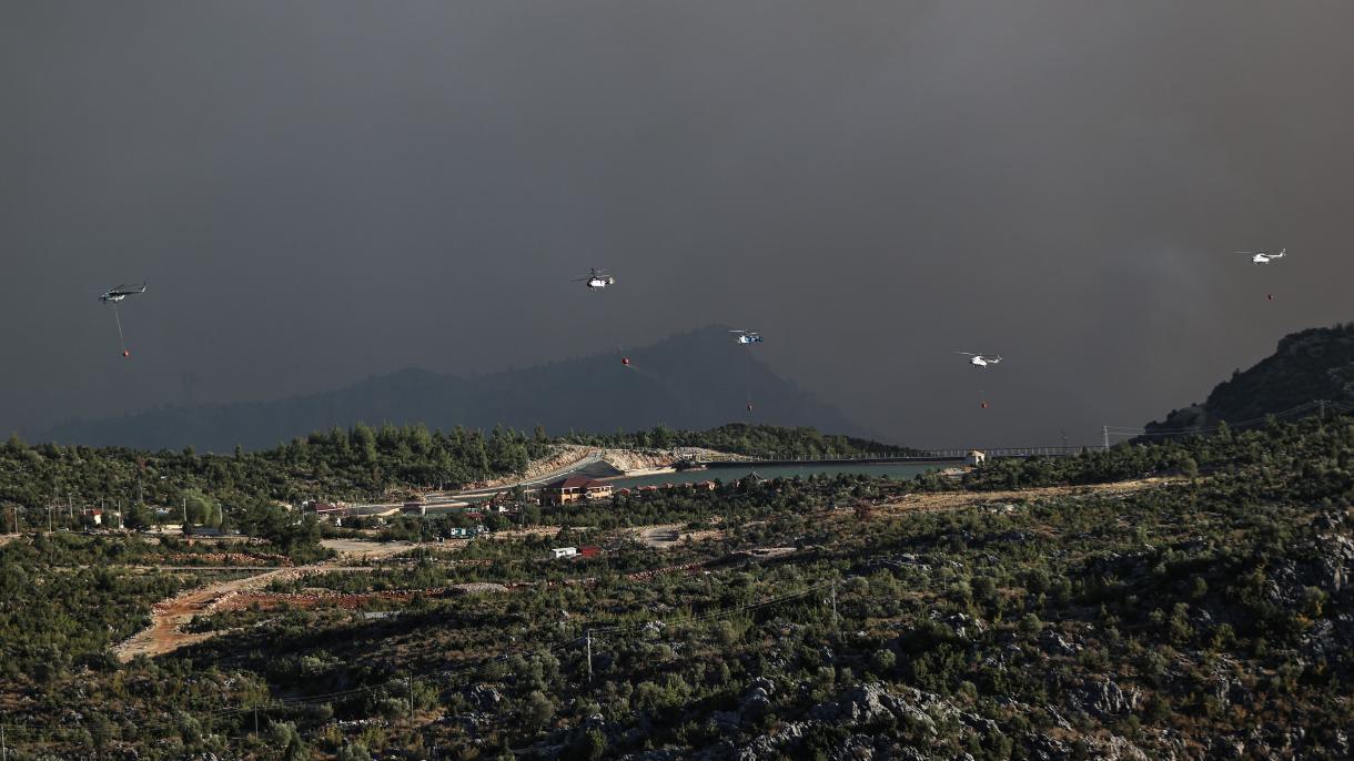 Turska: U toku su akcije gašenja požara s kopna i iz zraka