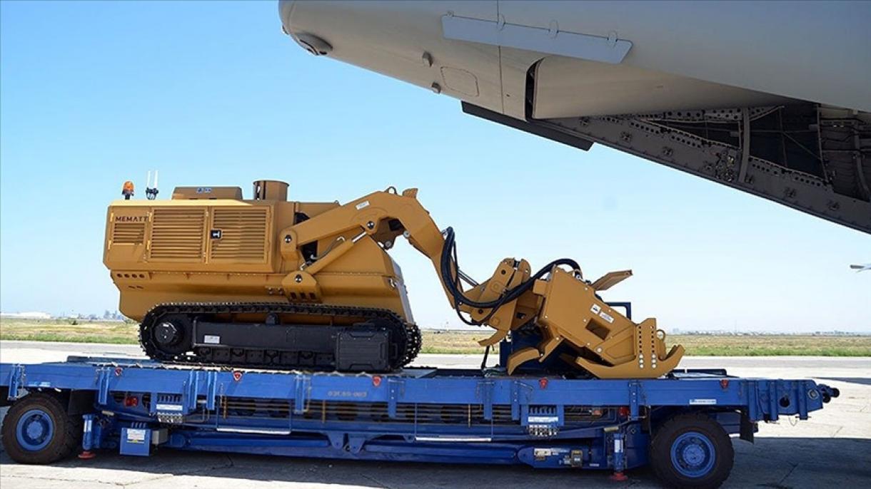 Turska Azerbejdžanu isporučila 5 MEMATT vozila  za uklanjanje mina na daljinsko upravljanje