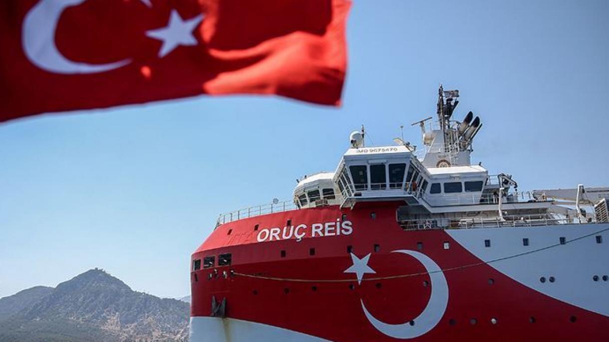 Istraživački brod Oruc Reis odlučno nastavlja misiju na istočnom Mediteranu