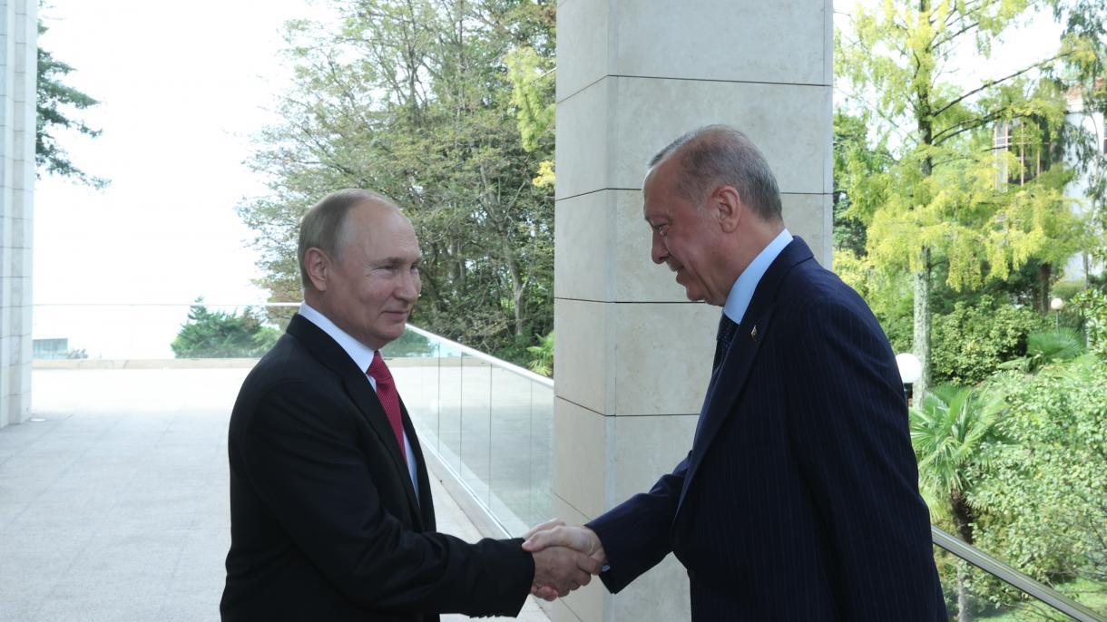 Predsjednik Erdogan poručio iz Rusije: Nastaviti jačati tursko-ruske odnose