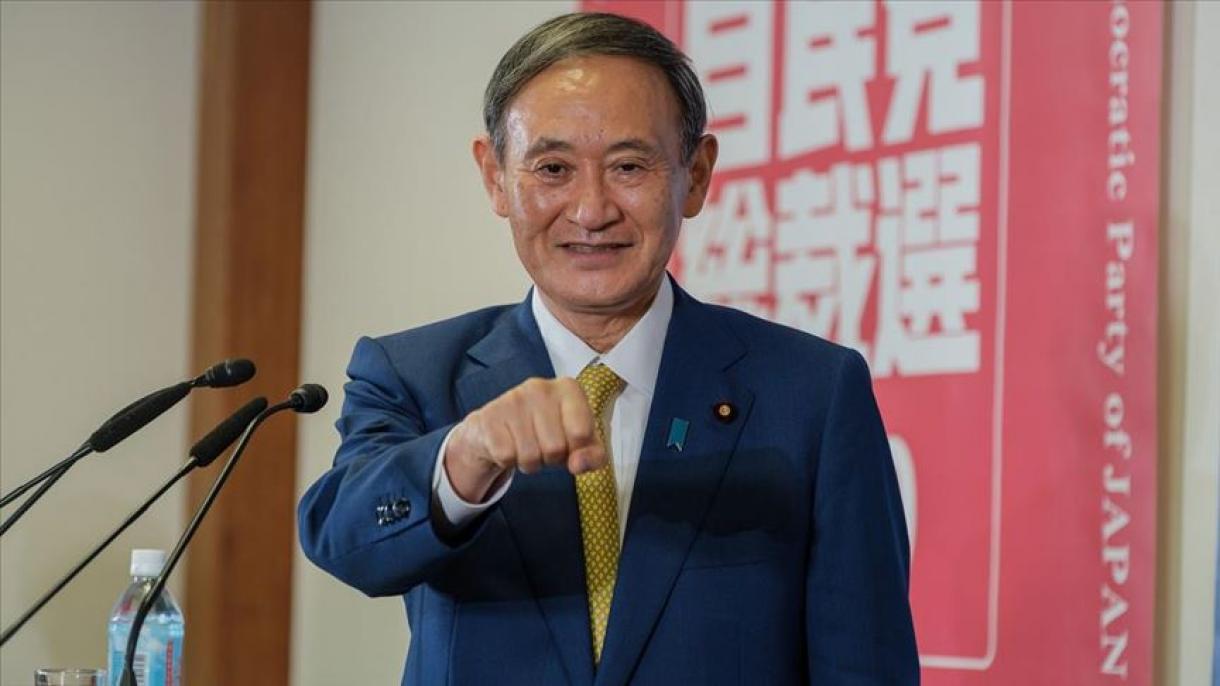 速報】 日本、菅新首相誕生