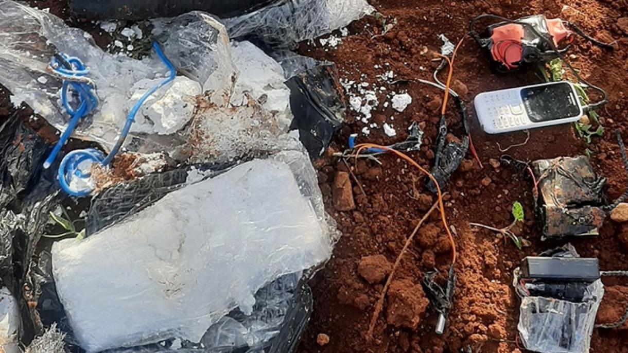 پلیس ترکیه بمب جاسازی شده در یکی از خیابانهای اعزاز را خنثی کرد