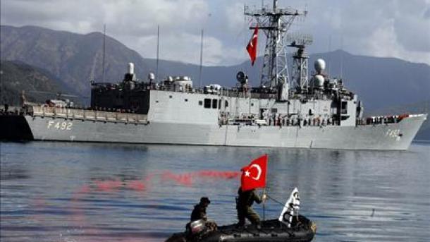 برنامههای آموزشی عناصر نیروی دریایی ترکیه و آمریکا در مدیترانه شرقی