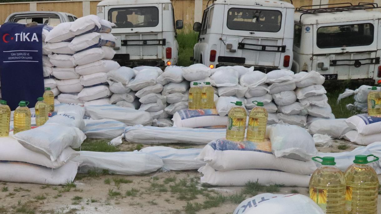 【トルコからの支援の手】 トルコ国際協力調整庁がアフガニスタンの洪水被災者に支援