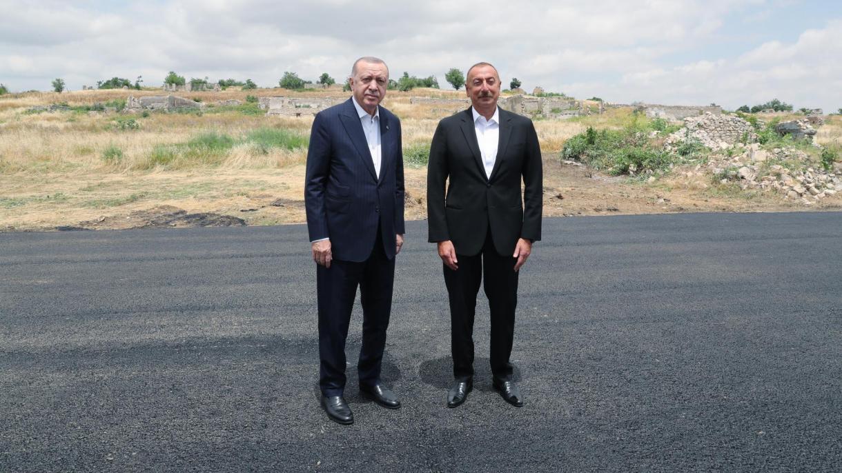 Azerbejdžan: Erdogan i Aliyev sastali se u oslobođenom gradu Šuša, u regiji Nagorno-Karabah
