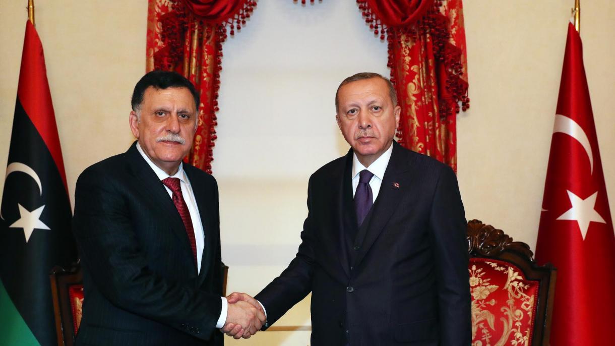 Sastanak Erdogana na sa Al Sarrajem: Prioritet Turske je mir i zaštita cjelovitosti Libije