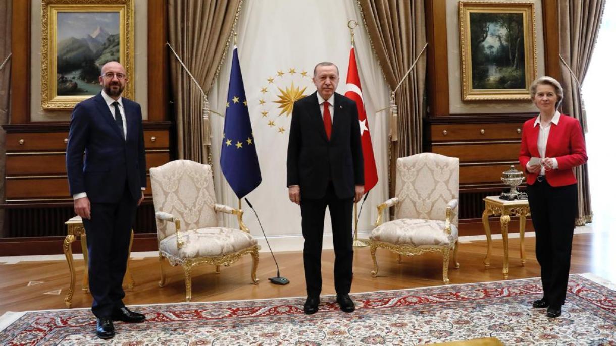 Le président Erdogan a reçu Charles Michel et Ursula von der Leyen