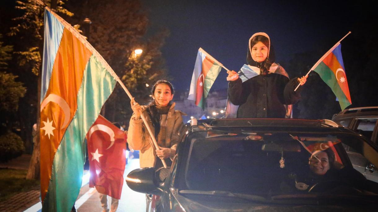 Azerbajxhani feston me entuziazëm të madh fundin e pushtimit armen