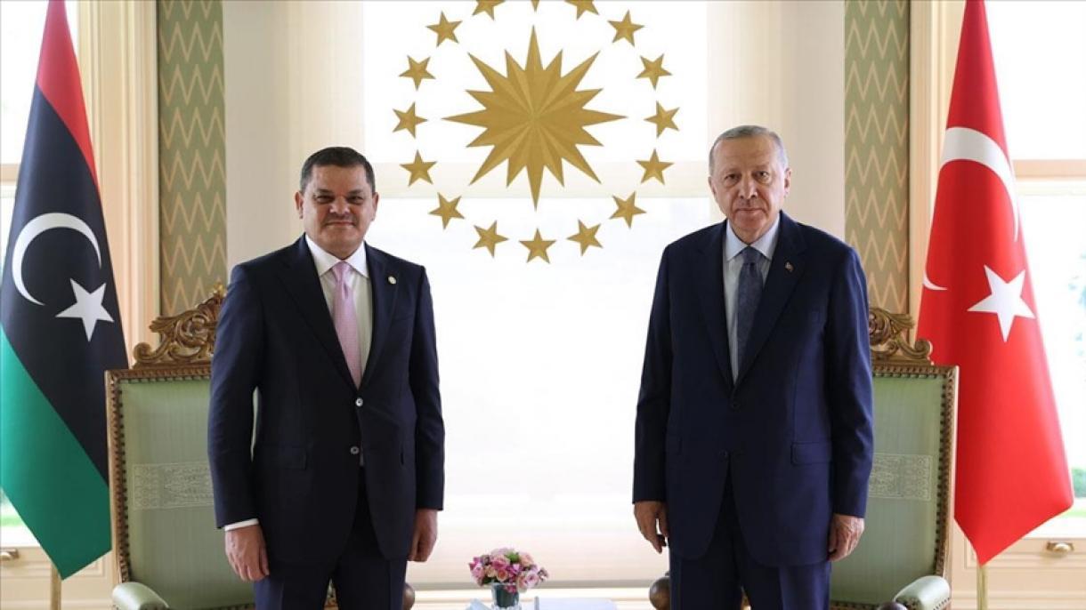 Erdoğan u Istanbulu primio premijera Libije Abdulhamida Dibeybea
