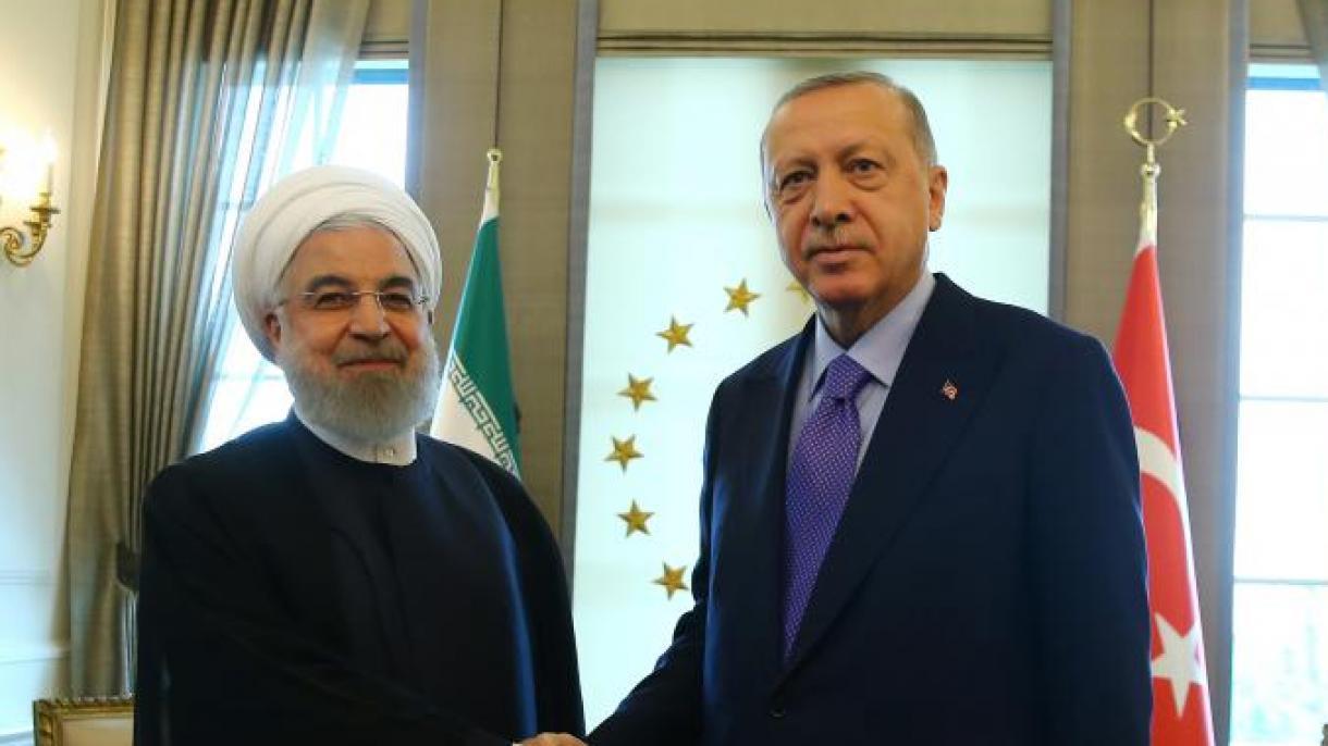Erdogan razgovarao sa iranskim predsjednikom Hasanom Rouhanijem