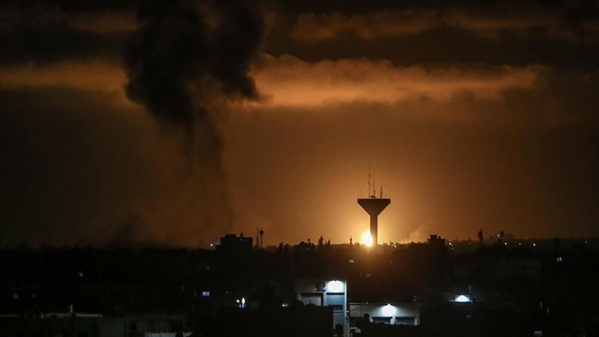 Izrael gađao blokirani Pojas Gaze