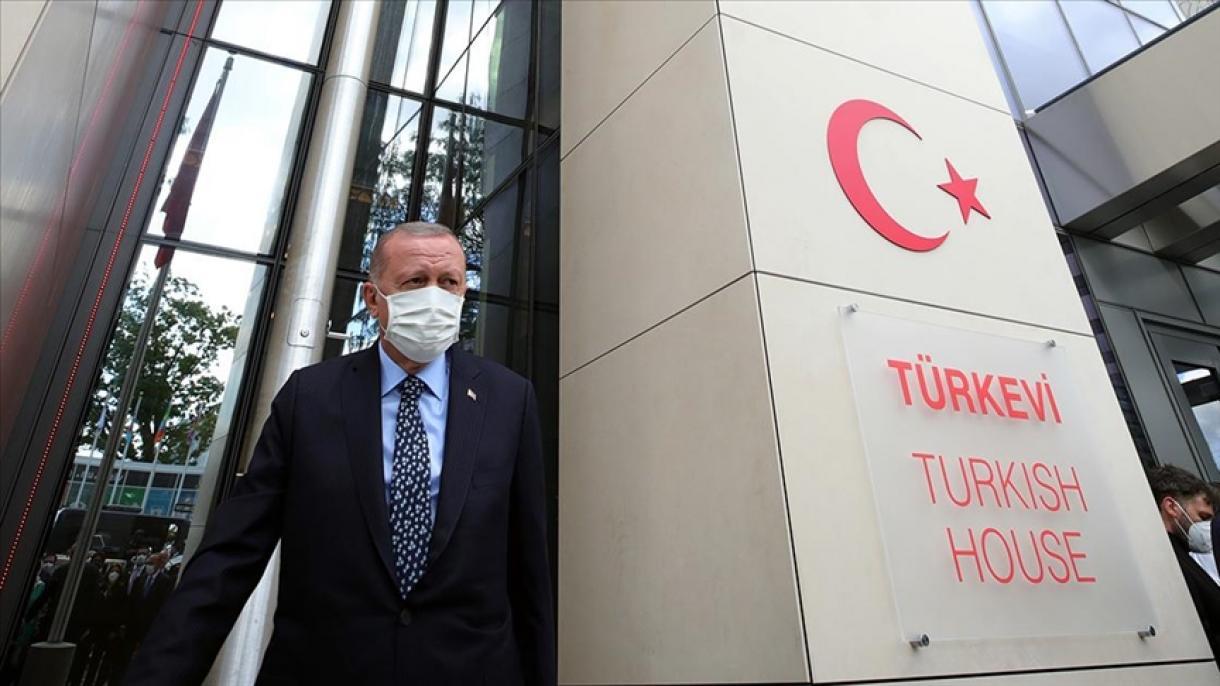 """Erdogan otvorio """"Tursku kuću"""" u Njujorku"""