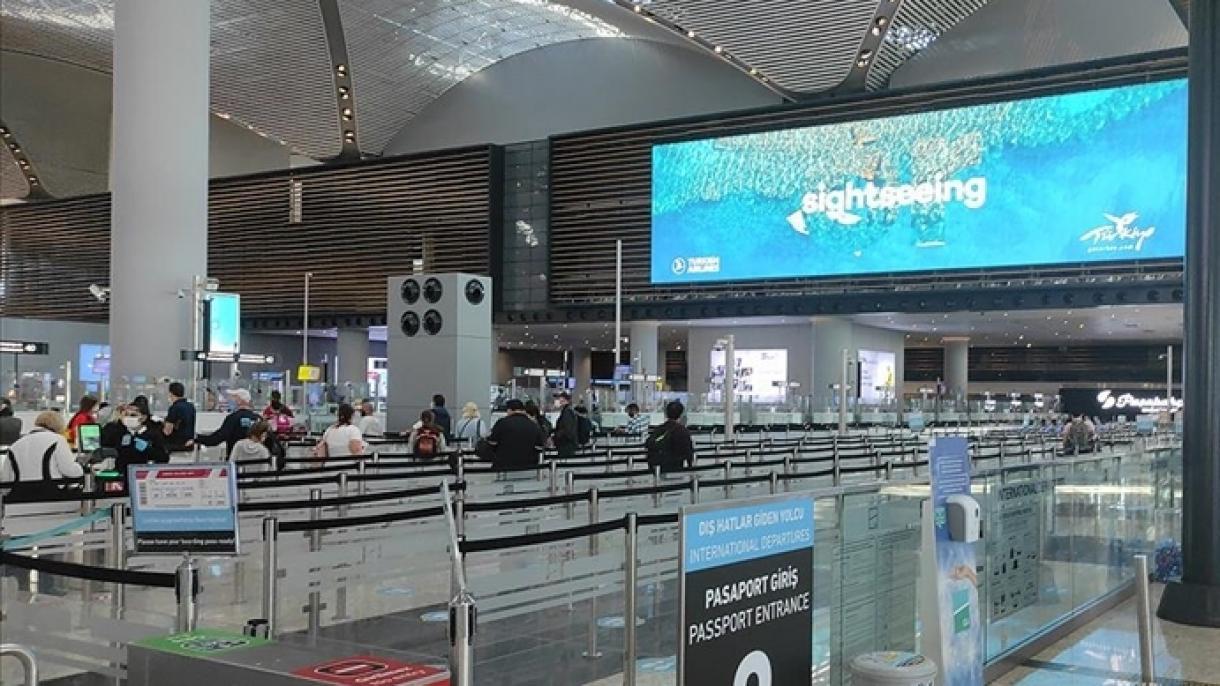 Aeroporti i Stambollit lider në Evropë me 686 fluturime në ditë