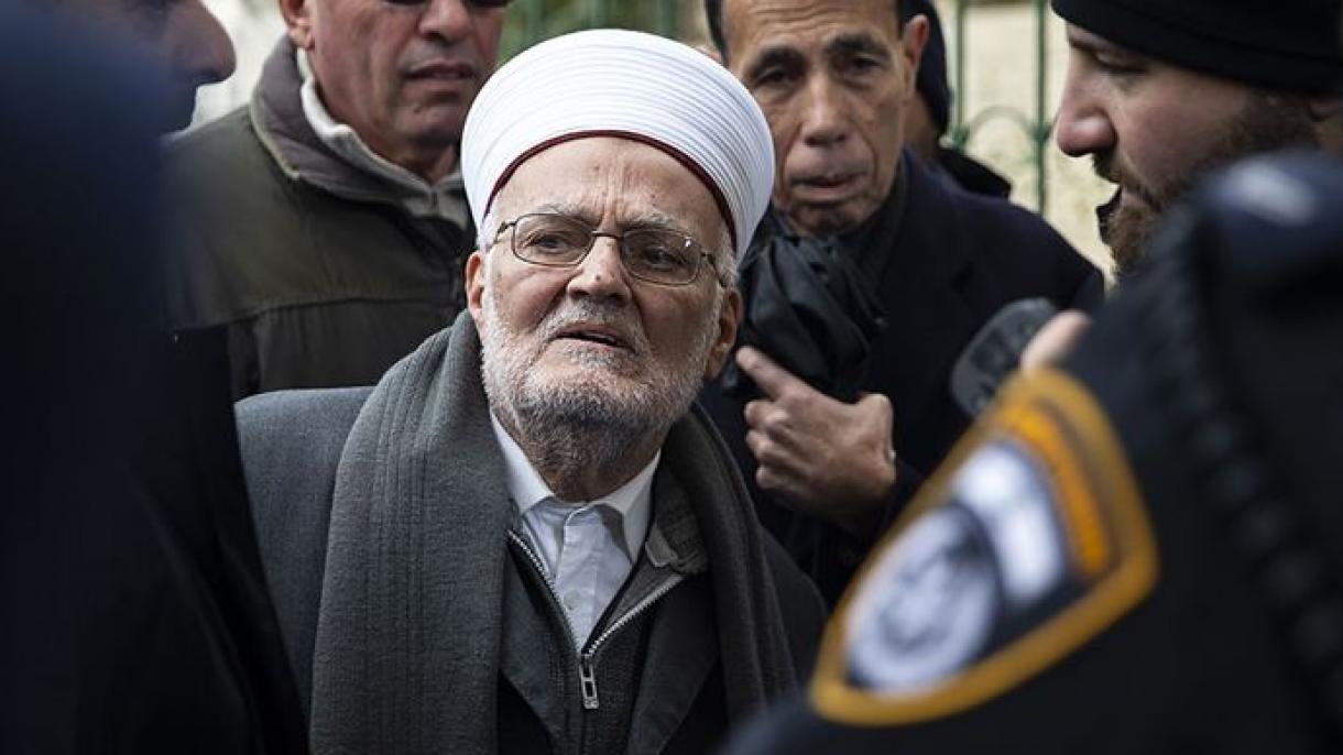 Israelske snage opet bez izgovora uhapsile imama svete džamije Al-Akse šejha Ekrima Sabrija